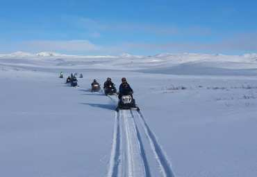 Snowmobile Tour North Iceland