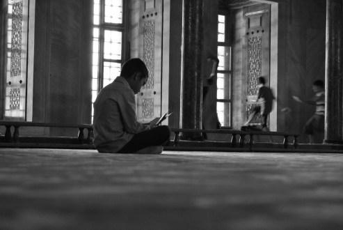 Soul time, moschea blu di Istanbul. Turchia 2012