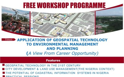 Free Workshop on Application of Geo-spatial Technology to Environmental Management and Planning
