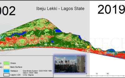 Ibeju Lekki, Lagos State Landuse / Landcover Dynamics