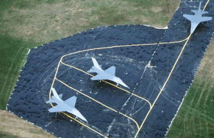 flatable airbase