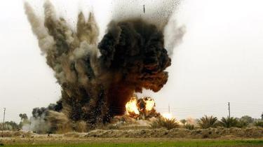 Frappe d'armement guidés en Irak