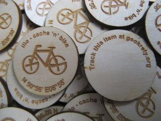 cache 'n' bike GeoKret