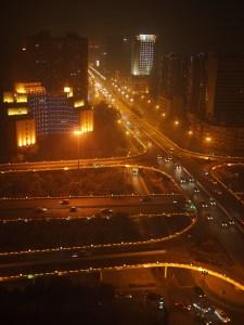 Chengdu at night