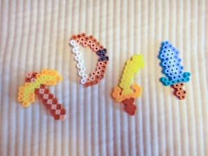 Perler bead creations