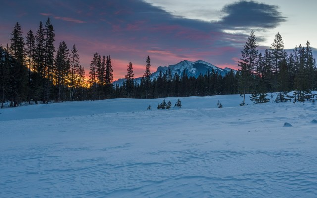 Canmore-sunrise