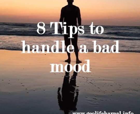 8 Tips to handle a bad mood