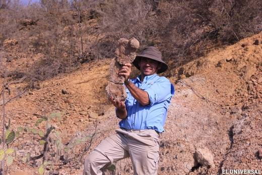 Ascanio Rincón, jefe del equipo de paleontólogos del IVIC (Cortesía IVIC)