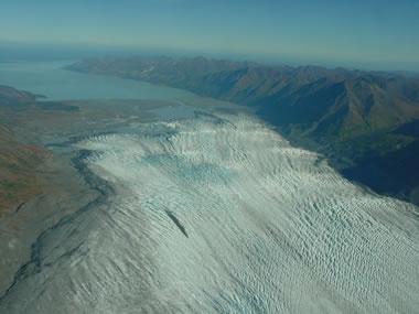 zones of a glacier