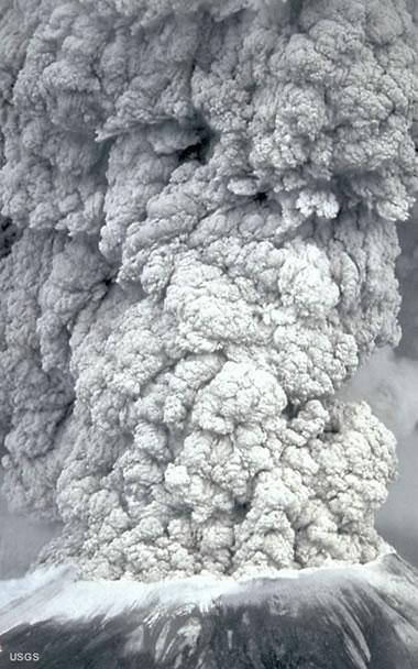 Nuvem de cinzas vulcânicas (http://geology.com)