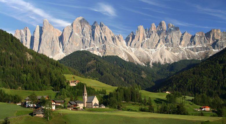 The Dolomites - iStockphoto