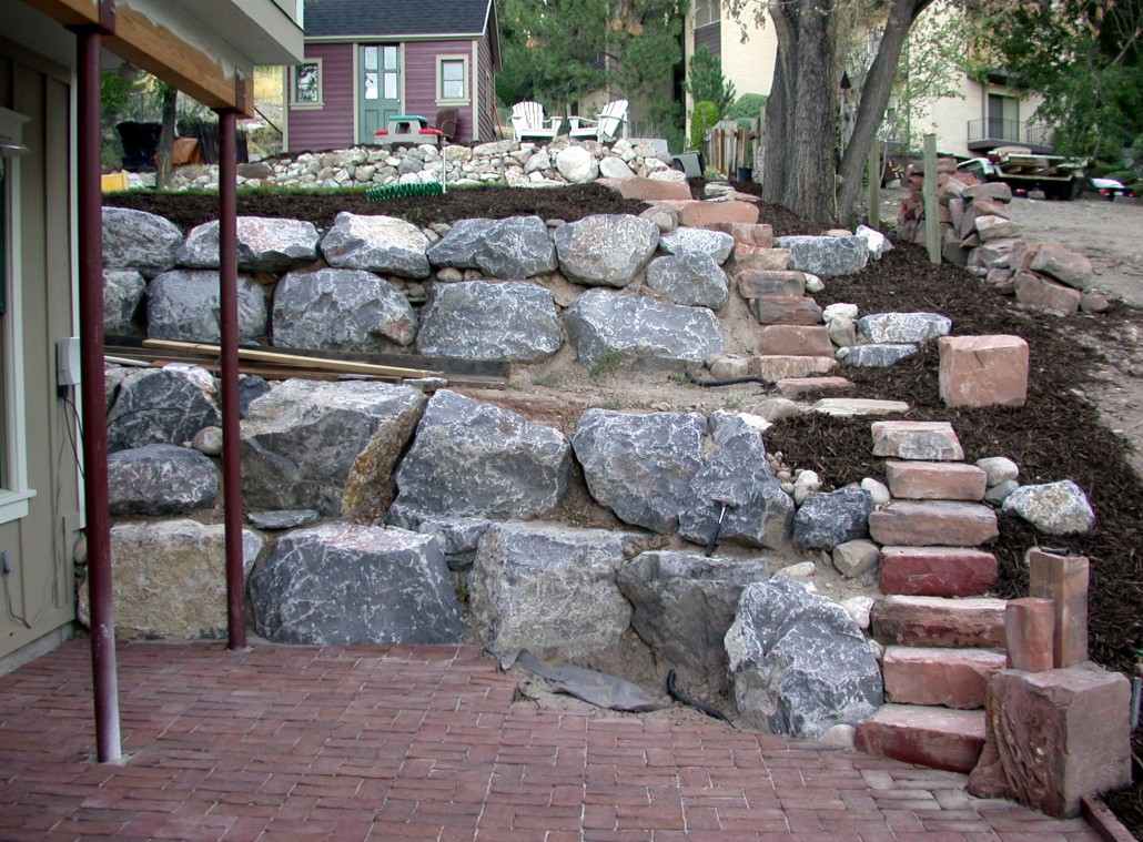 Rock Wall Landscaping