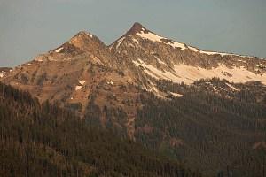 Sawtooth Peak in California.