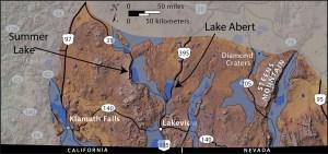 Pleistocene lakes of Southern Oregon