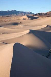 High desert sand dunes