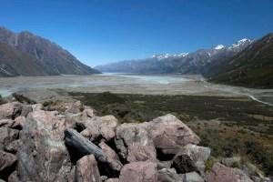 Glacial outwash, NZ
