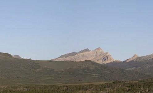 Chief Mountain Klippe, Glacier National Park, Montana and mounta