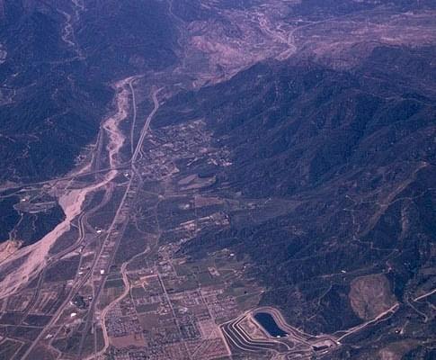 San Andreas fault, San Bernardino, CA
