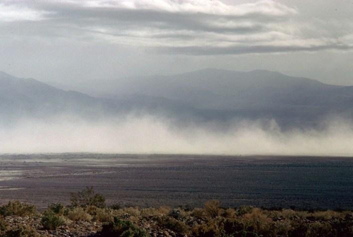Dust Storm on playa