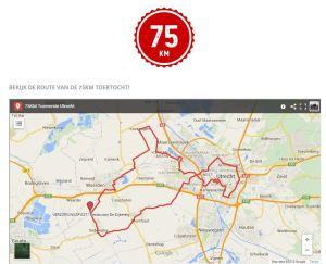 75KM Tourversie Utrecht
