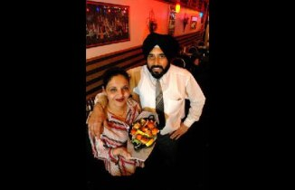 The couple who run the restaurant. Image from Natraj's website.