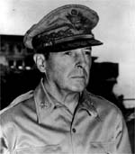 General Douglas MacArthur. Image from PBS website.