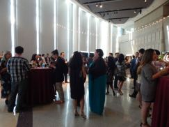 Friday reception at V3Con. Photo by Laylita Day.