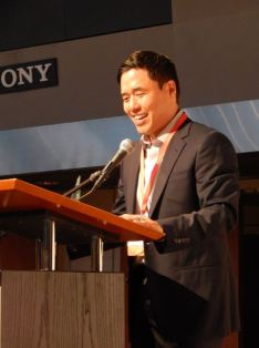 Friday reception at V3Con. Randall Park. Photo by Laylita Day.