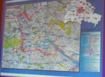 Map of Berlin. Photo by Laylita Day.