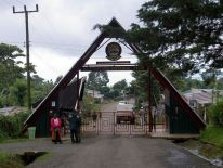 Entrance to Kilimanjaro national Park. Image from Wikipedia.org.