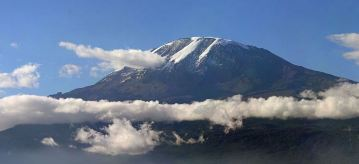Mt. Kilimanjaro. Image from Wikipedia.org.