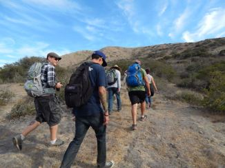 Hiking in Catalina. Photo by Laylita Day.
