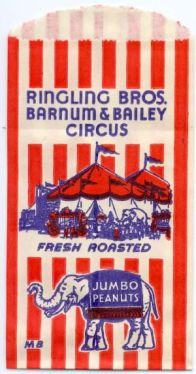 Circus peanuts bag. Image from Google Images.