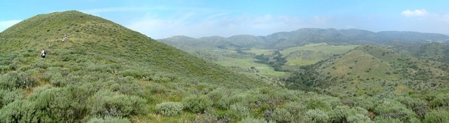 La Jolla Valley. Image from Ventura County Trails website.