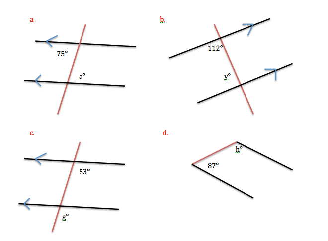 Co Interior Angles