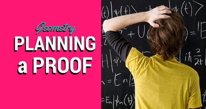 Planning a Proof Geometry