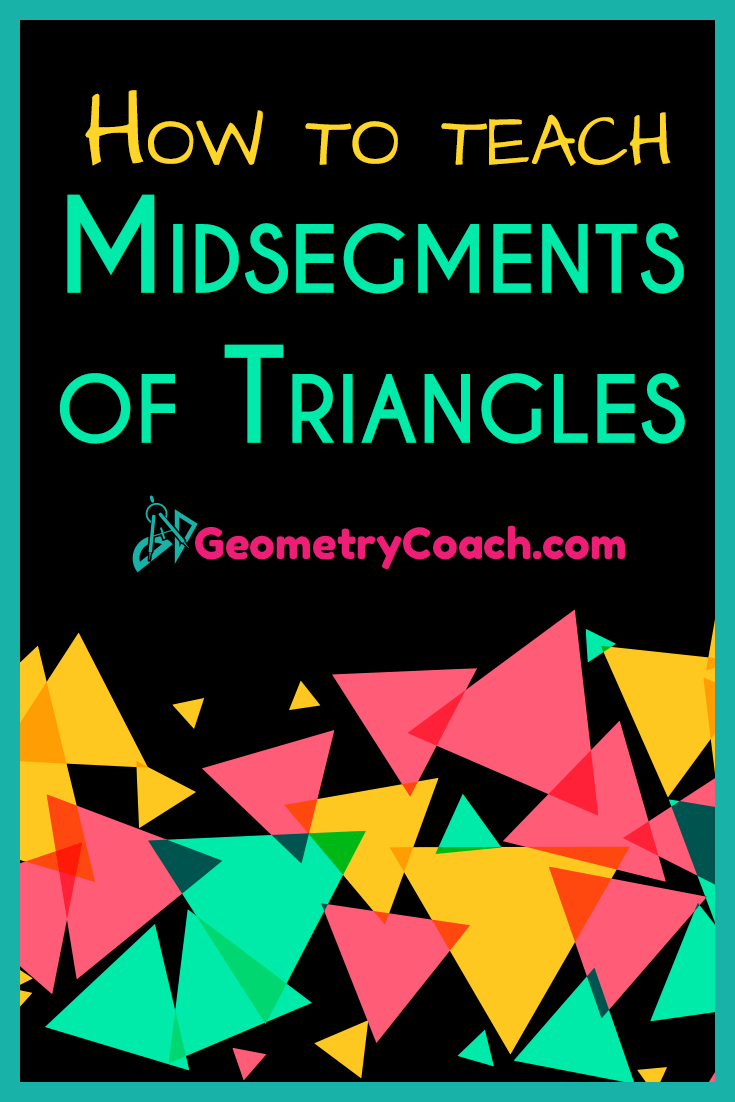 Midsegments of Triangles worksheet with answers