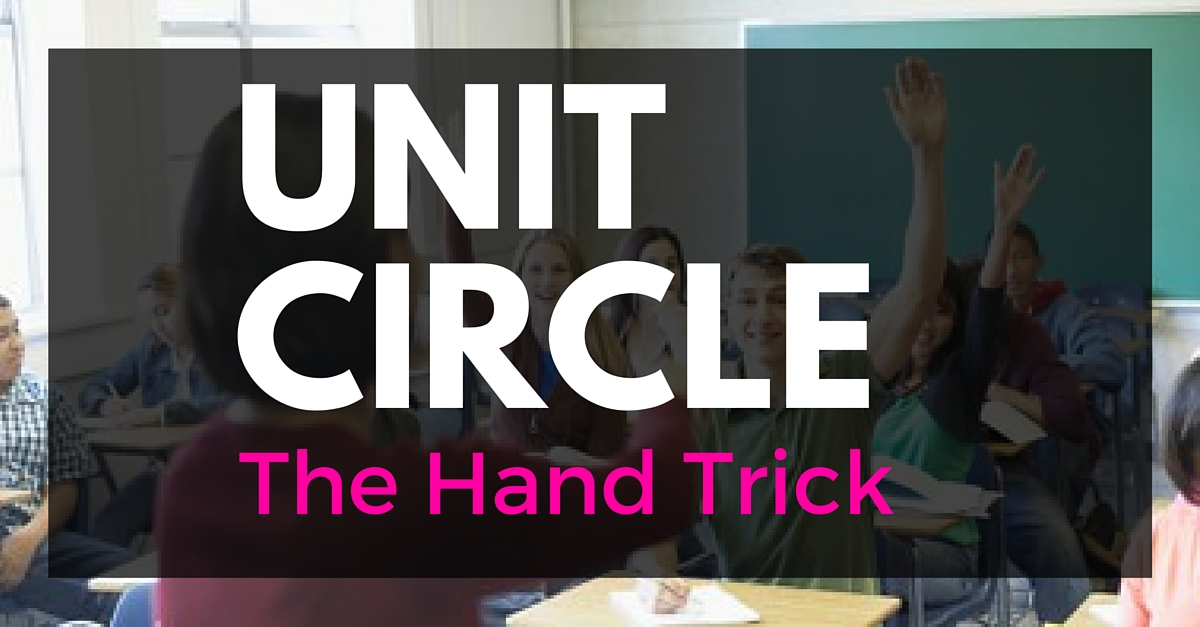 The Unit Circle – Hand Trick