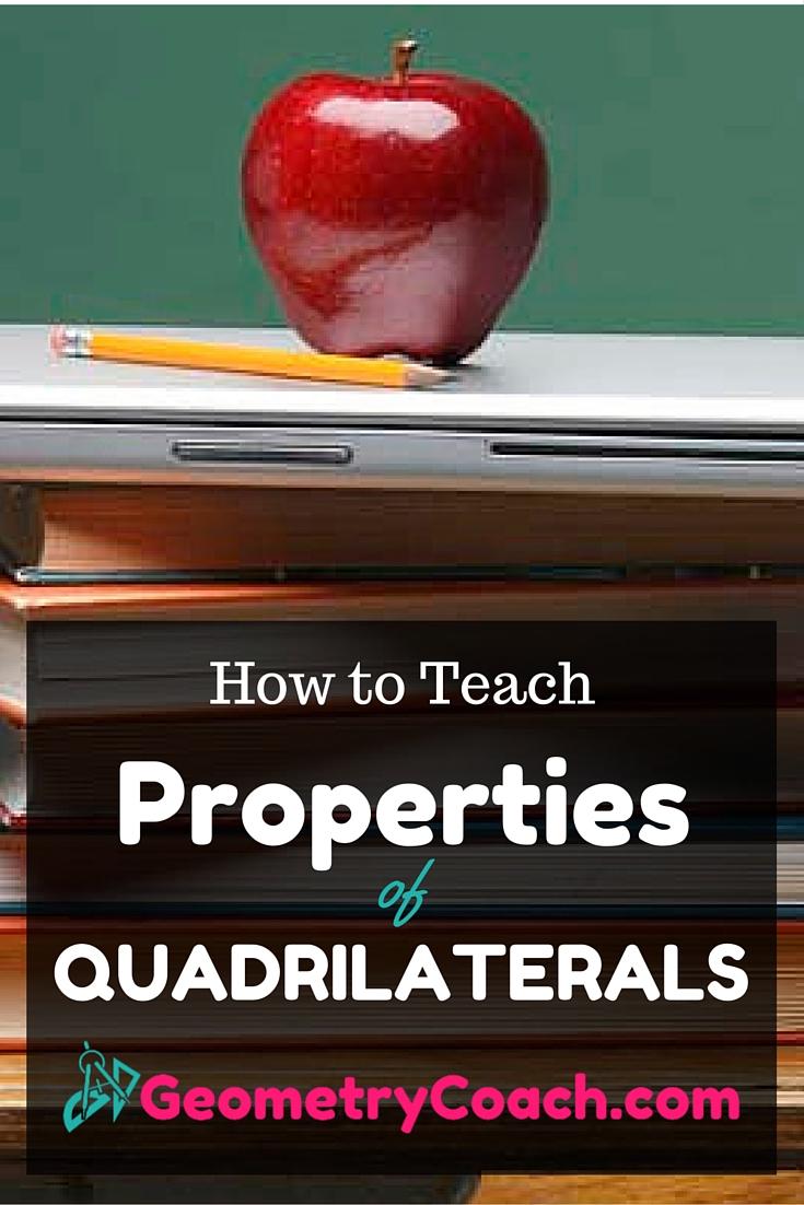 Properties of Quadrilaterals Worksheet
