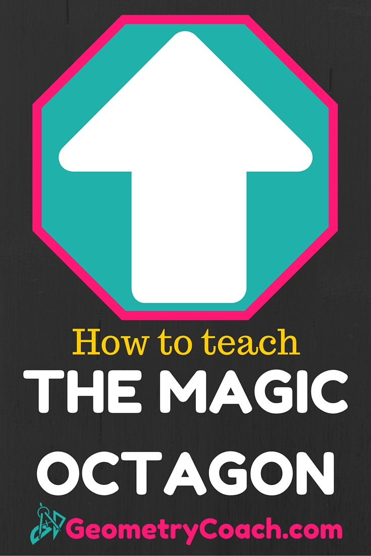 The Magic Octagon - Geometry Lesson on Transformations - Understand congruence in terms of rigid motions.