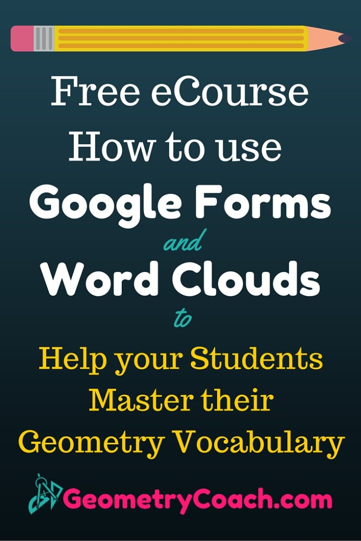 Google Forms and Word Clouds - Pinterest