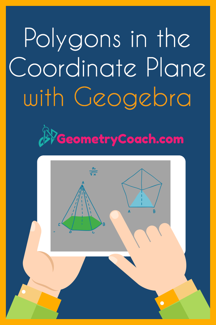 Polygons in the Coordinate Plane with Geogebra