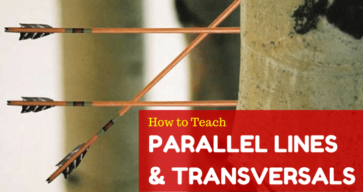 Parallel Lines and Transversals Worksheet with Answers