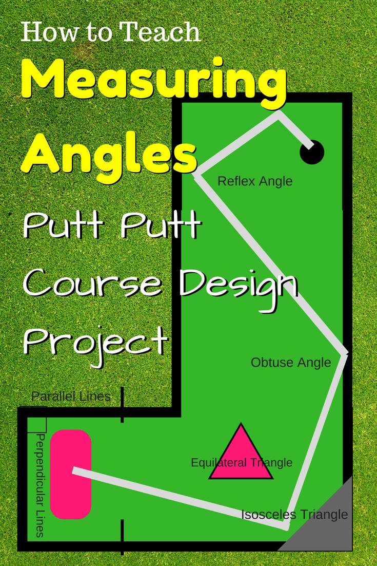 Measuring Angles Putt-Putt Course Design Project