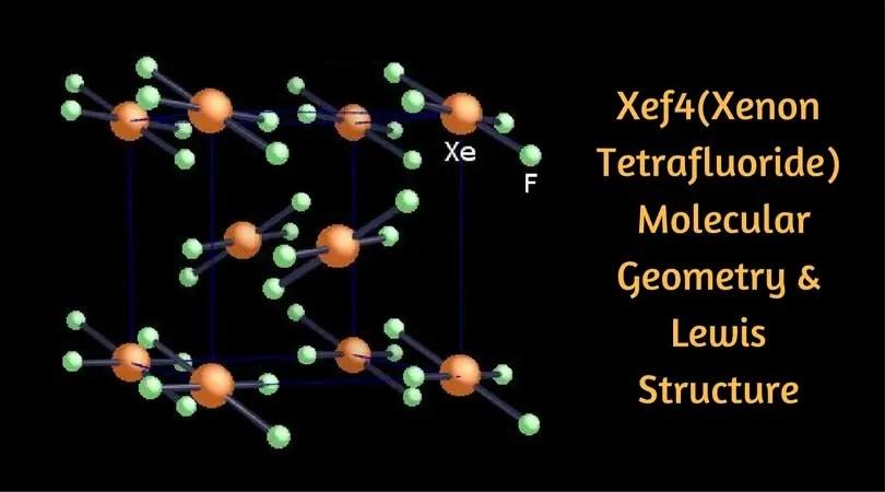 Xef4(Xenon Tetrafluoride) Molecular Geometry