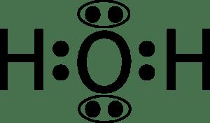 H2O electron geometry