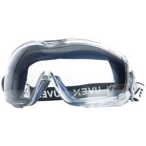 Uvex Stealth OTG Safety Goggles with Anti-Fog