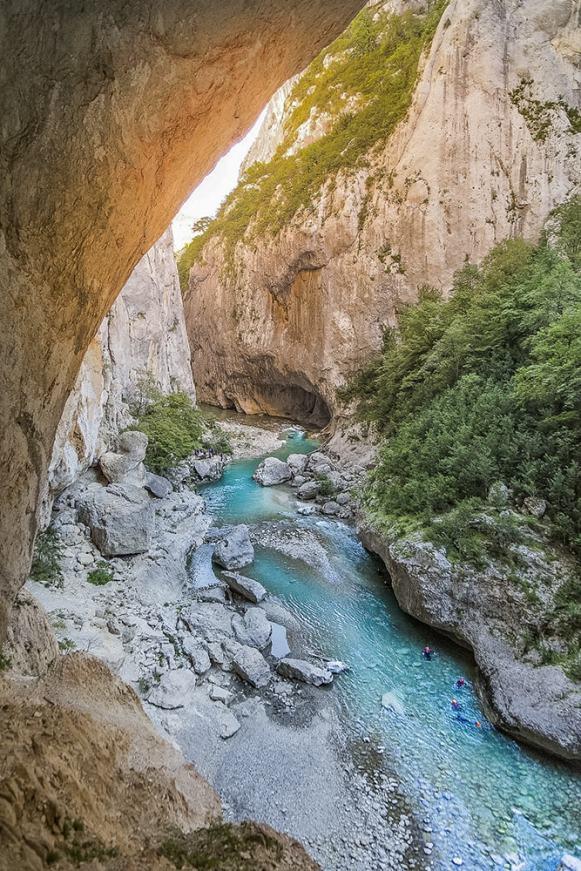 Le Couloir Samson dans les Gorges du Verdon