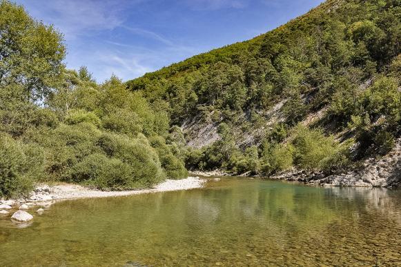La rivière du Verdon, toujours belle