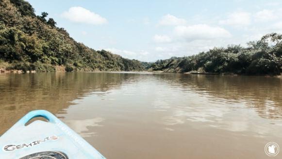 Canoë sur la Rivière Nam Khan